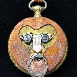time lion vintage bespoke pendant